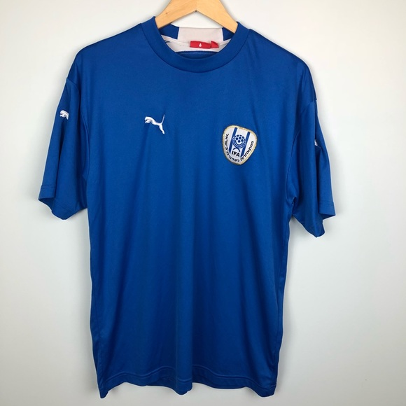 b48a6cae4 Puma Shirts | Israel Football Soccer Jersey Size Large | Poshmark